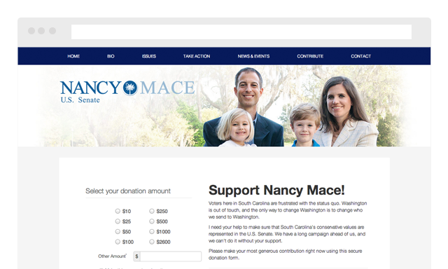 Nancy Mace for Senate